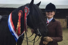 Sophie Cumbers and Waterside Black Prince