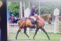 Kayleigh Catton and Llanarth Fair Play