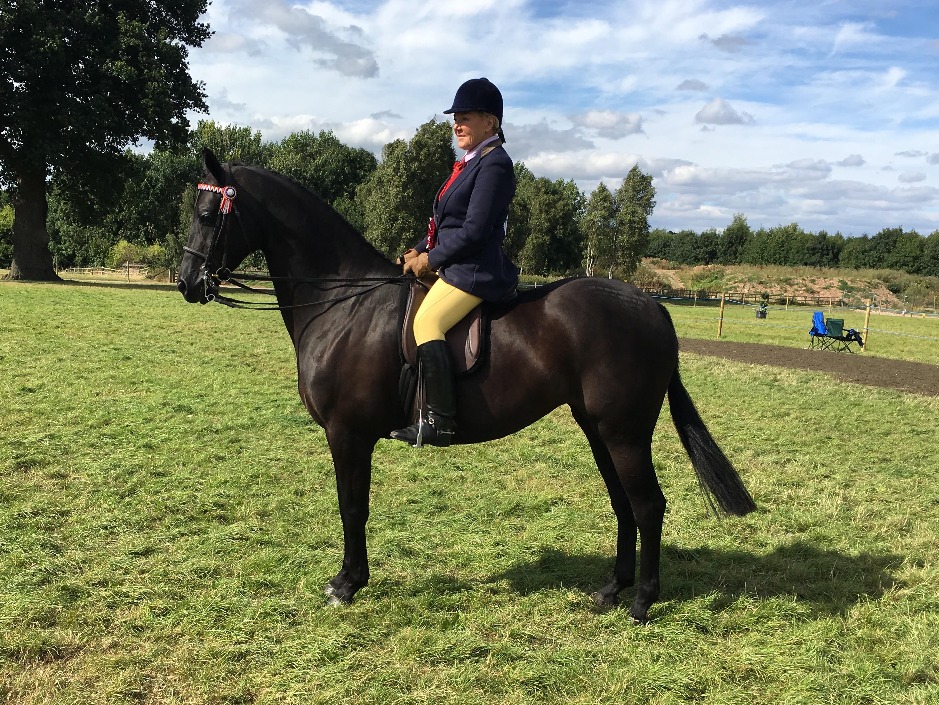Becconsall Regal Ruby with Jean Walsh-Wright