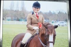 Haighmoor Prydferth rider Sophia Chambers