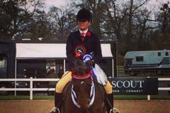 Royal Engagement rider Imogen Trice