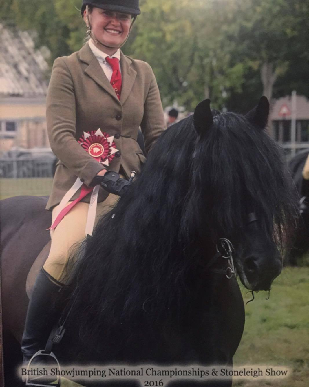 Murthwaite Oliver rider Lucinda Stockley