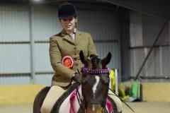 Rhyfel Saxon prince rider Danni Radford
