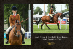 Jodi Gregg and Jeanfield Regal Prince