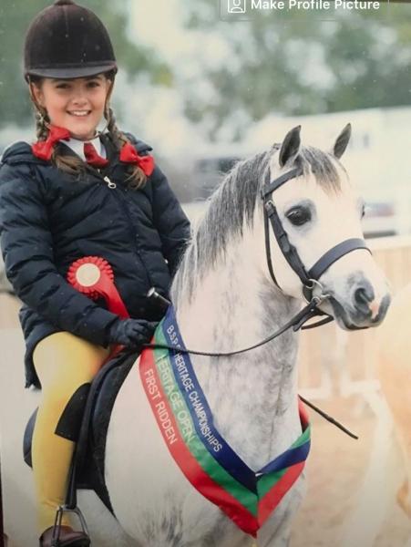 Chloe Heathcote and Uphill Freddie fox copy