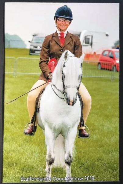 Ashleigh Walters and Penech Welsh Soldier