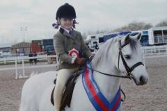 Imogen Megeney rider Browan Terfel