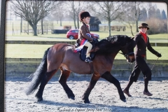 Pumphill fandango Rider Toby johnstone