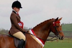 Caitlin Bradley and Firecrest C