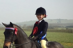 Whiteleaze Aurora rider Mia Donaldson